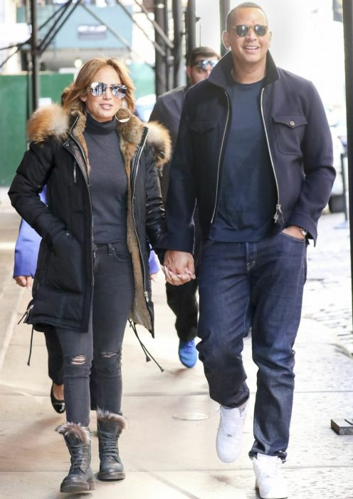 Jennifer Lopez And Alex Rodriguez All Smiles While Out In Soho