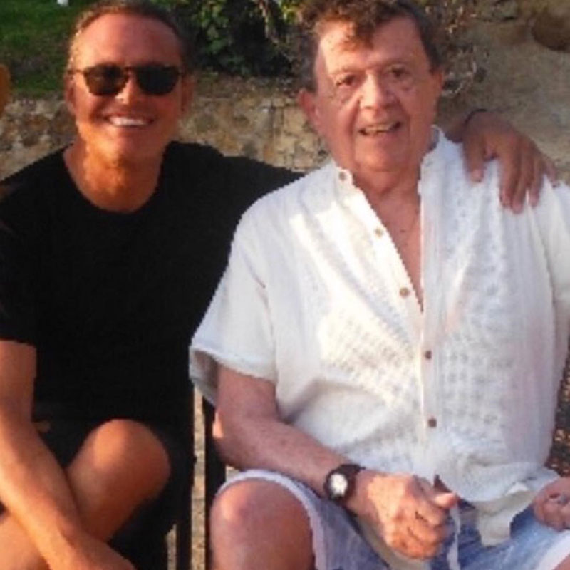 LUIS MIGUEL AND 'CHABELO' HAVE FUN ON THE BEACH AND CAUSE FUROR ON INSTAGRAM