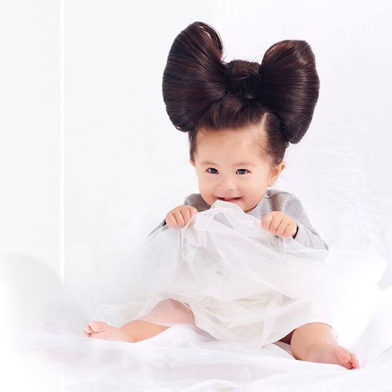 MEET BABY CHANCO, THE BEAUTIFUL HAIRED GIRL WHO IS NOW PANTENE'S MODEL