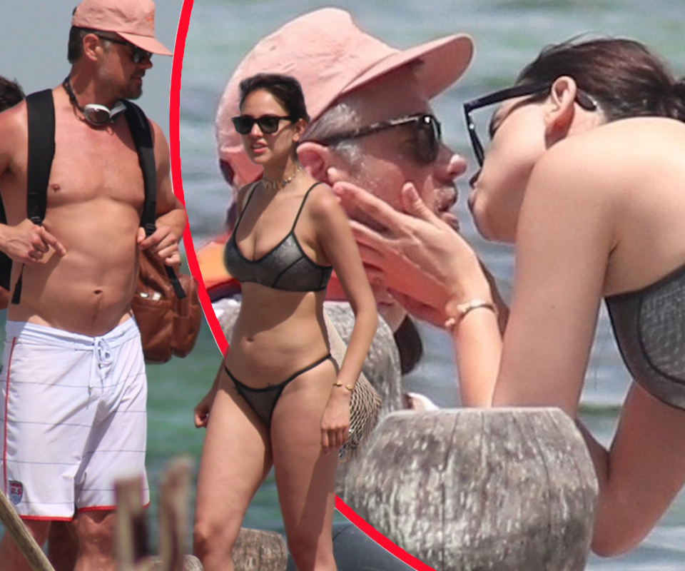 EIZA GONZÁLEZ AND JOSH DUHAMEL PACK ON THE PDA IN MEXICO