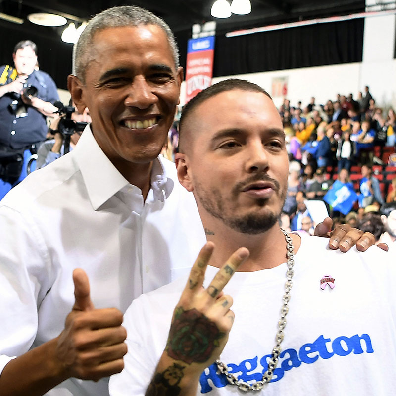 BARACK OBAMA CONTINUES TO PROVE THAT HE'S A FAN OFJ-BALVIN