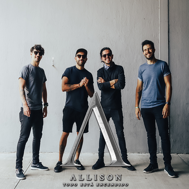 La banda power Pop-Rock ALLISON
