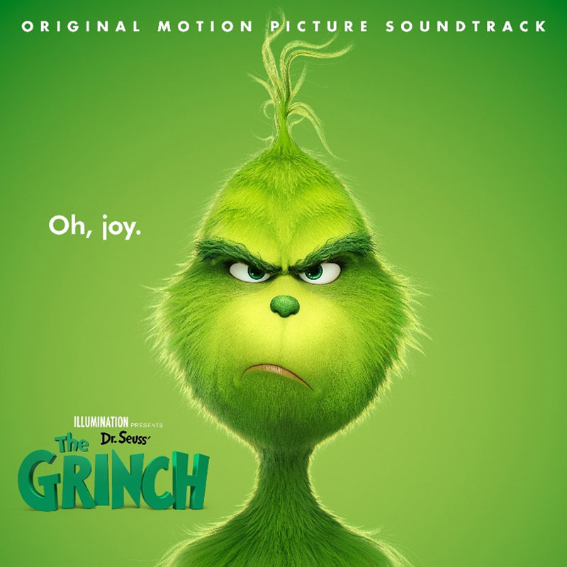 THE GRINCH (ORIGINAL MOTION PICTURE SOUNDTRACK)AVAILABLE NOVEMBER 9