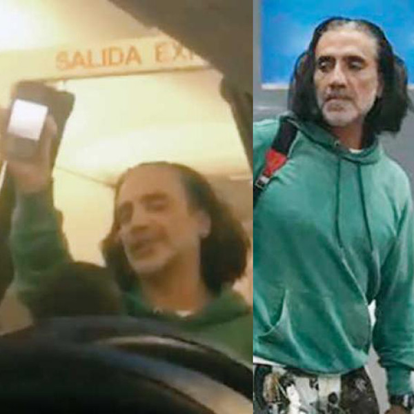 OMG! DID ALEJANDRO FERNÁNDEZ GET DRUNK AND SCARE PASSENGERS?