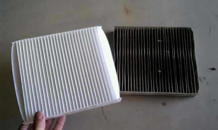 dirty-cabin-air-filter